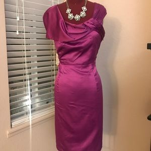 MAGENTA DRESS FROM THE LIMITED